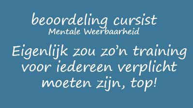 Mentale Weerbaarheid 3